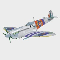 Boys rooms Wall Decals: Spitfire Wall Decals