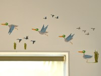 Wall decals Birds Flying | Felt