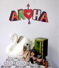 Aroha wall decal  Medium | Felt