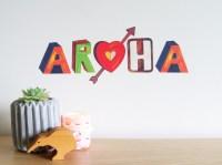 Aroha wall decal  Small