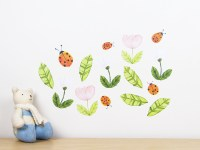Ladybirds wall decal  medium | Felt
