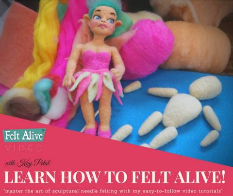 Needle Felted Fairy Video