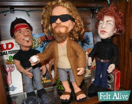 The Dude - Needle Felted Doll by Kay Petal