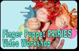 finger puppet fairies