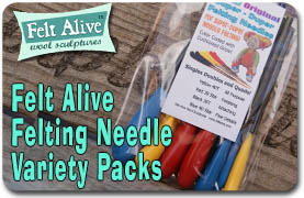 Felting Needle Variety Packs