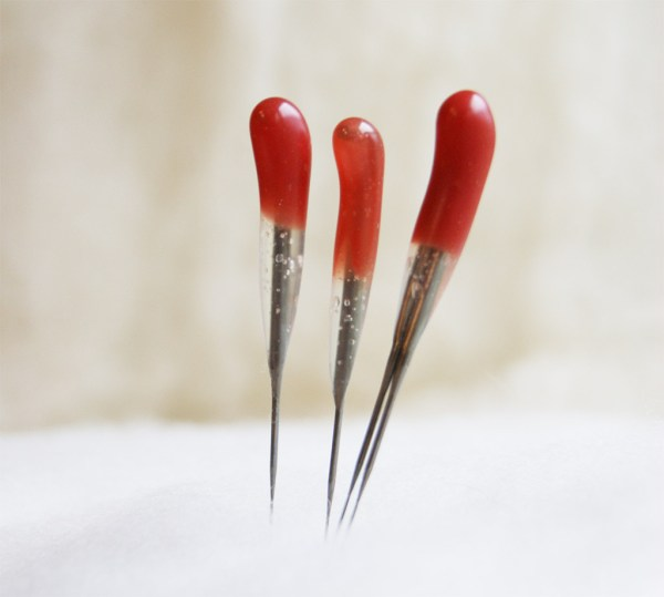 Red Multi-Purpose 42 star Felting Needles Combo Pack