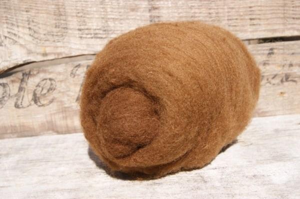 BROWN Needle Felting Wool