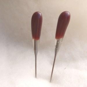 twist blade felting needles - single point 2 pack