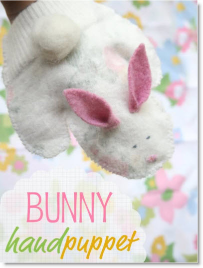 bunny puppet