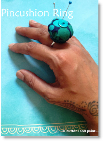 Pincushion Ring