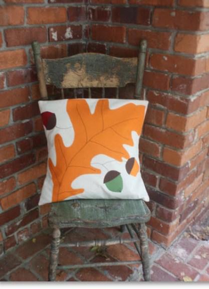 Oak Leaf Pillow