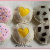 Tutorial: Secret to Cutting Felt & Making Felt Cookies