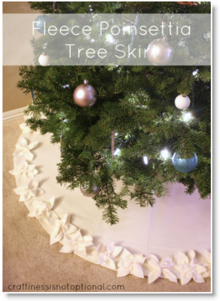 Making A Christmas Tree Skirt