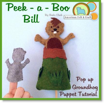 Groundhog Puppet Tutorial