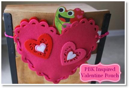 Pottery Barn Kids Knock Off Valentine S Pouch Felting
