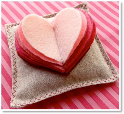 Valentine Day Sachet