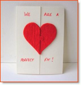 How To Valentine S Day Card Felt Tutorial Felting