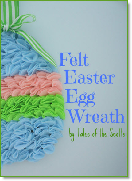 Easter Eggs wreath