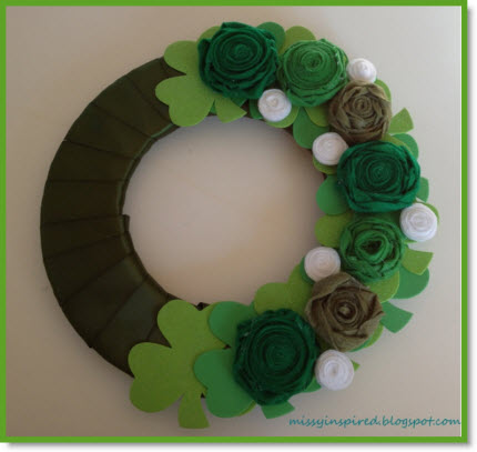 ST Pat's Wreath