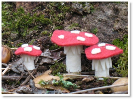 Tiny mushrooms tutorial