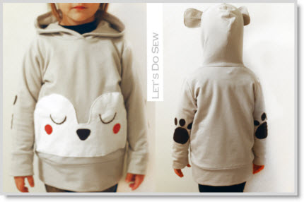 DIY Bear Hoodie Knock It Off Series