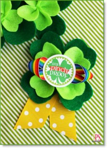 Pinch Proof St. Patrick's Day Badges