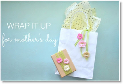 Mother' Day gift wrap
