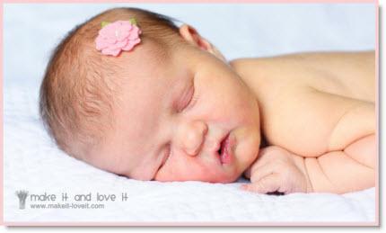 baby Hair flower