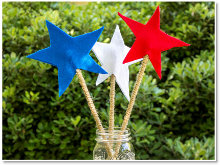 4th of july wands