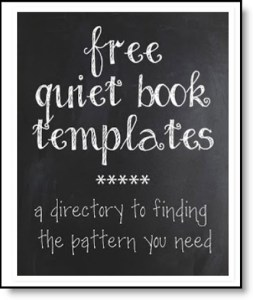 Quiet Book Pattern Directory