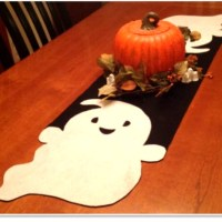 Felt Ghost Table Runner Tutorial