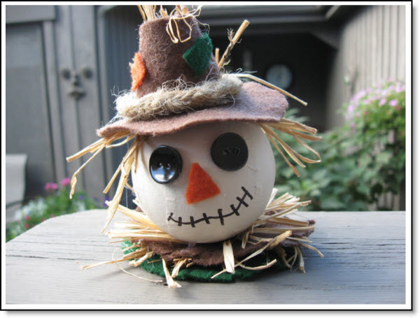 Fall Scarecrow Ornament