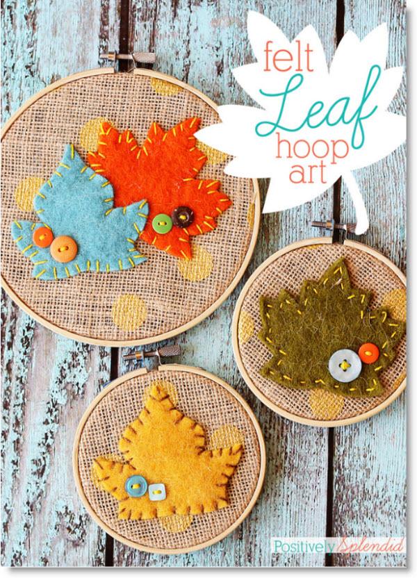 fel leaf hoop art