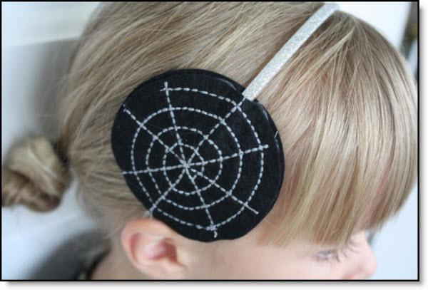 Superb Halloween Spider Web Hair Bands Diy Felting Natural Hairstyles Runnerswayorg