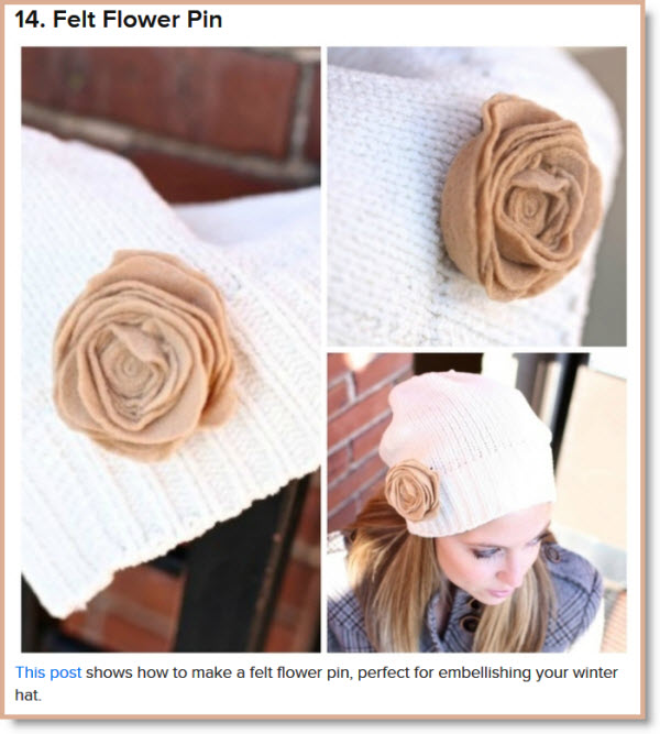 17 DIY Accessories To Keep You Cozy This Winter