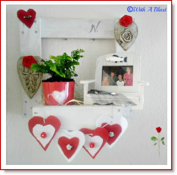 Valentines Wall Display