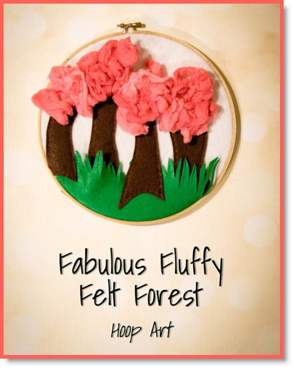 felt forest