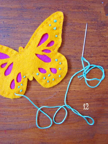 6 Crafts To Make Using Felt Butterflies Felting