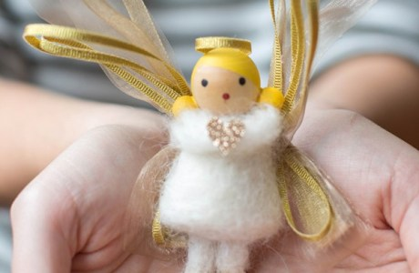 Needle Felting For Kids  – Christmas Angel