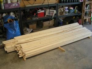 Yurt wood