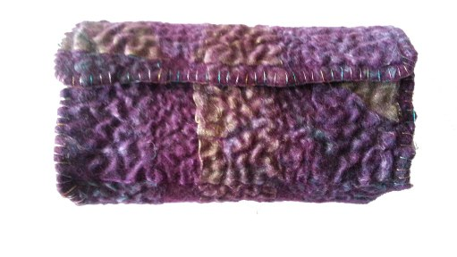 Hand Stitched Eyeglass Case