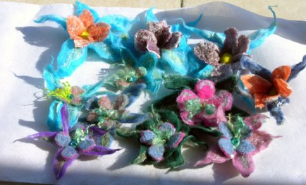 Carole's Flower Pins