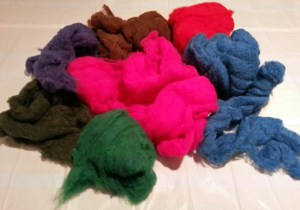 pile of batts