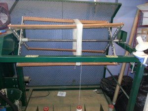 Skeining machine