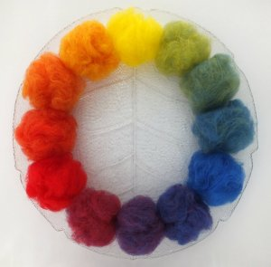 colour wheel by Lyn