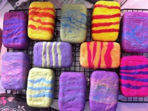 soap felted 2