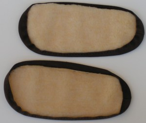 Inside of the Slipper Soles