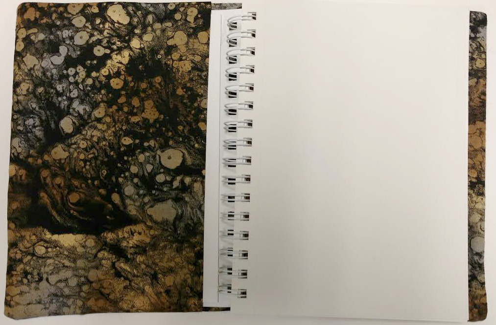 Screen Printed Felt Journal by Ruth Lane