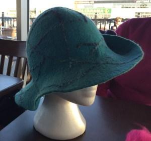 turquise hat 2