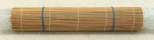 rubber bands to hold sushi mat tight